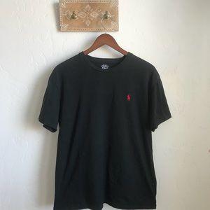 Men's POLO RALPH LAUREN black t-shirt